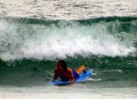Meine ersten zaghaften Surfversuche