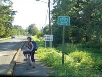 Der erste Radweg, den wir hier gefunden haben