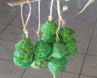 Eine meiner ultimativen Erfindungen: Weihnachtsbäumchen aus Eierkarton