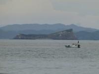 Fischkutter vor der Küste von Puntarenas