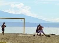 Strandfußball in Puntarenas