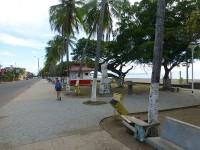 Strandpromenade in Puntarenas