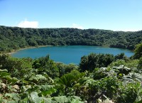 Botos-See am Vulkan Poás