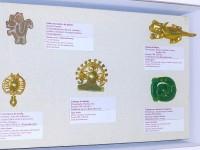 Schmuckgegenstände im Nationalparkmuseum