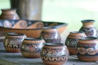 Traditionelles Chorotega-Steingut
