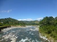 Blick auf den Rio Grande de Orosi