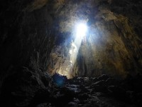 Höhle Terciopelo von drinnen