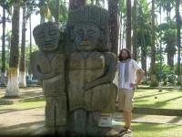 Figuren im historischen Stil im Vargas-Park