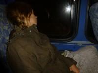 Auf der langen Busfahrt durch die Berge von Talamanca